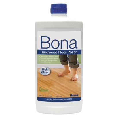 Bona High Gloss Hardwood Floor Polish 24 Oz Flooring