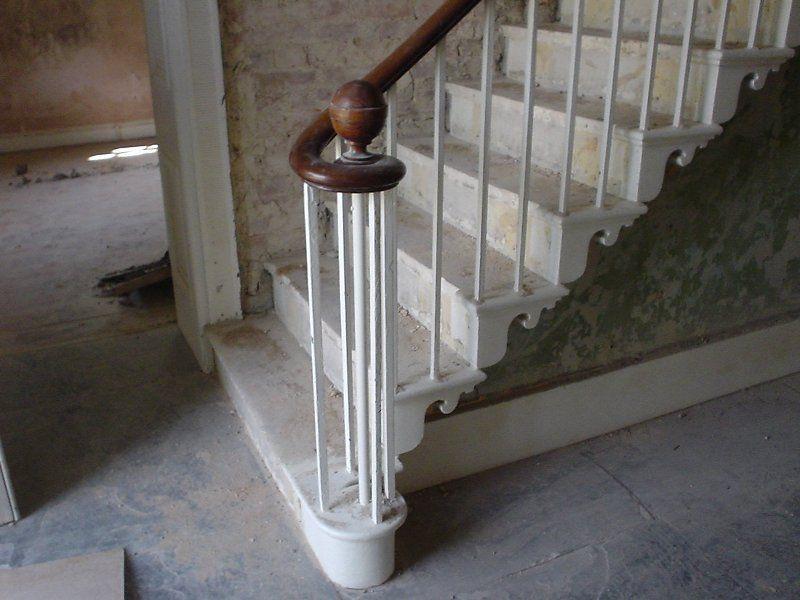 Georgian Staircases Metal Balustrades Entrance Hall