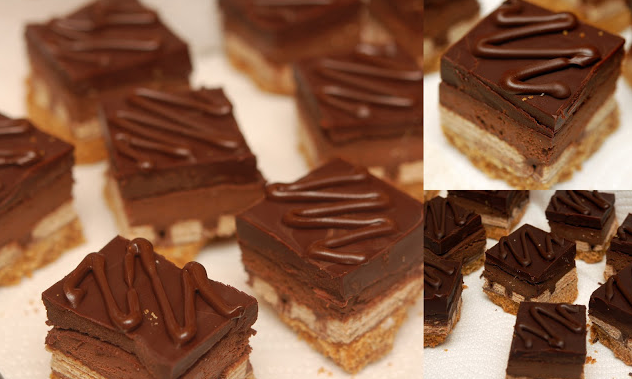More Kit-Kat Cheesecake Bars