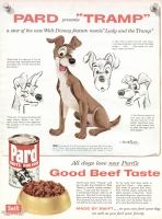 Pard Dog Food 1955 Ad Made By Swift Tramp A Star Of The New