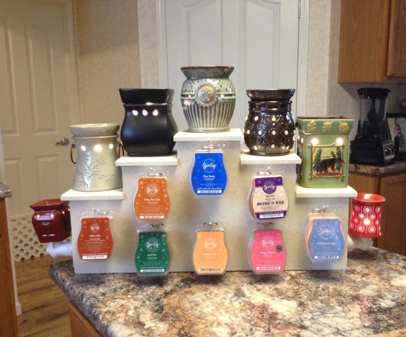 Consultant Display Stand For Amp Compatible W Scentsy