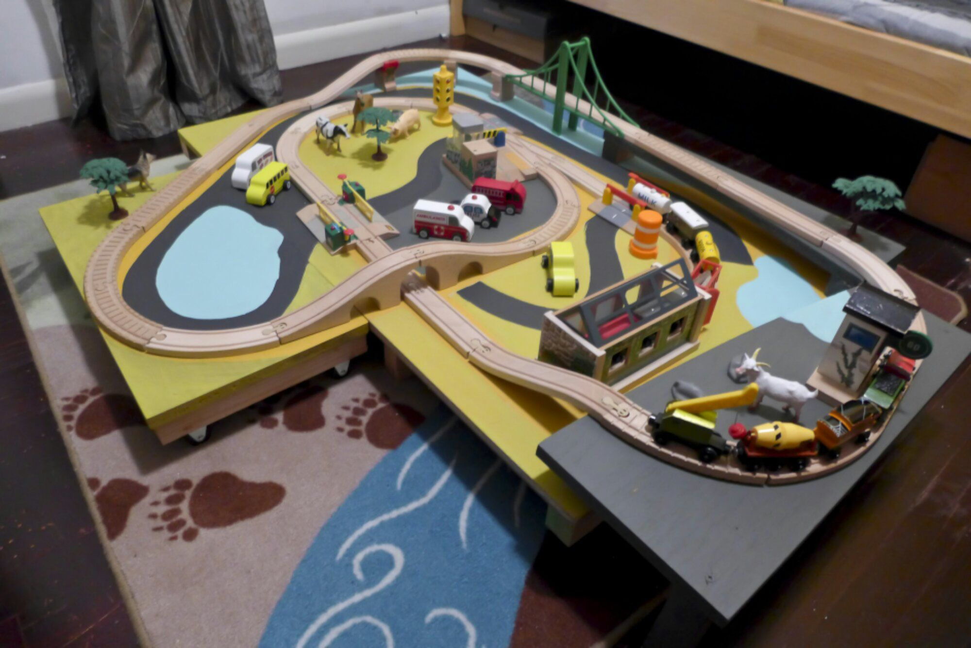 Great post about train table add-ons and accessories. | For Colton | Pinterest | Train table Train set and Toy & Great post about train table add-ons and accessories. | For Colton ...