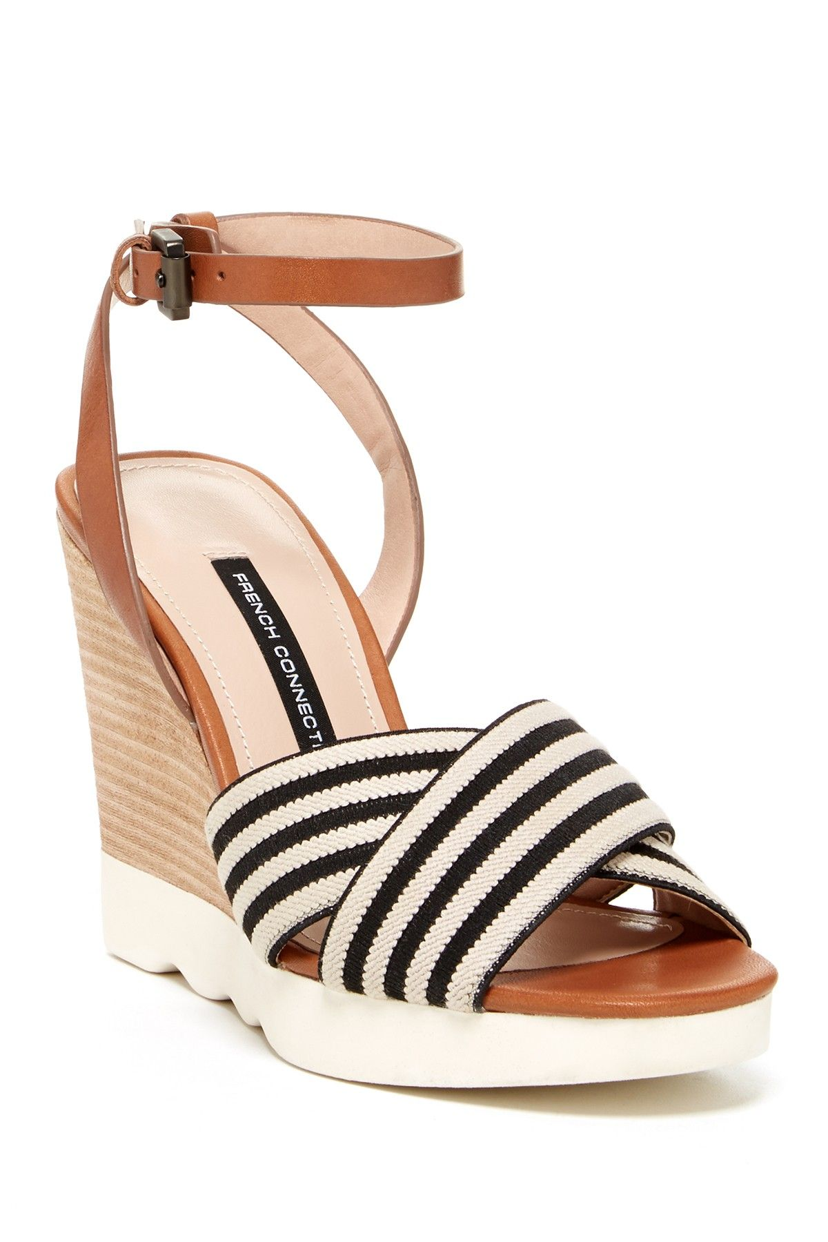 347d22903f90 French Connection Jane Wedge Sandal by French Connection on  nordstrom rack