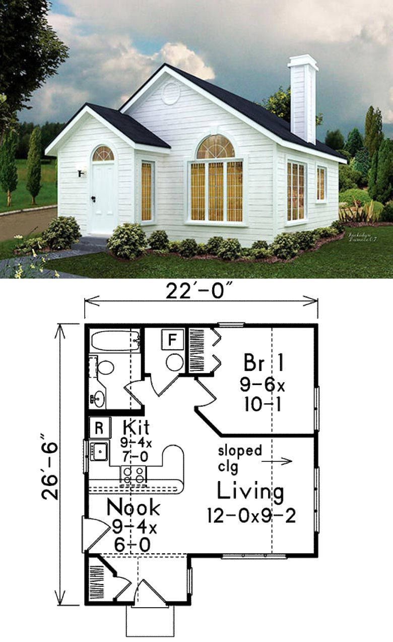 Free Printable Small House Plans In 2020 Small House Floor Plans Tiny House Design Cottage House Plans