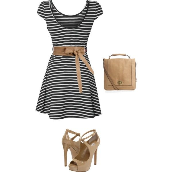 a bit more formal, created by chloeorr on Polyvore