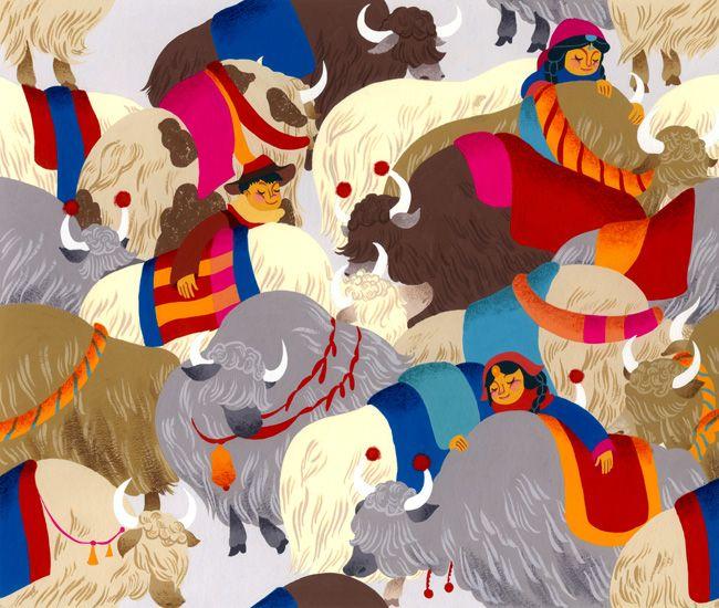 bonita ilustração. cores sensacionais