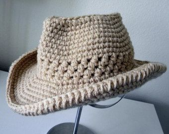 1e25428826183 Cowboy Hat Crochet pattern-Permission to sell by smeckybits ...