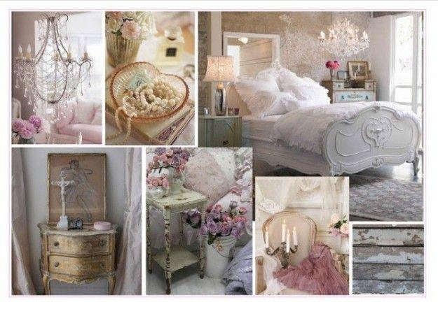 Camera da letto shabby shic: arredare secondo lo stile del momento ...
