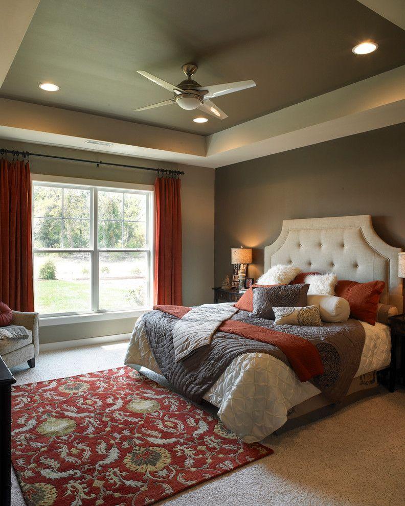 Superb-kichler-fans-in-Bedroom-Transitional-with-Bedroom ...