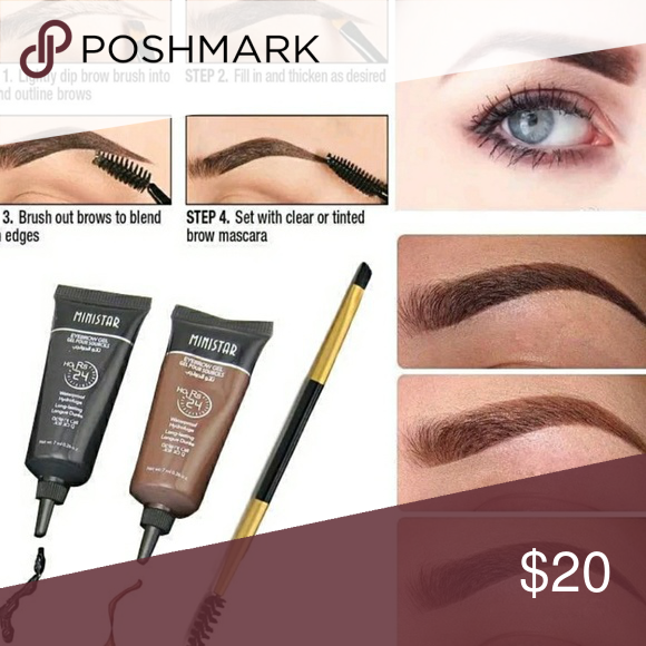 EYEBROW HENNA JUST IN. EYEBROW HENNA JUST IN. Set includes