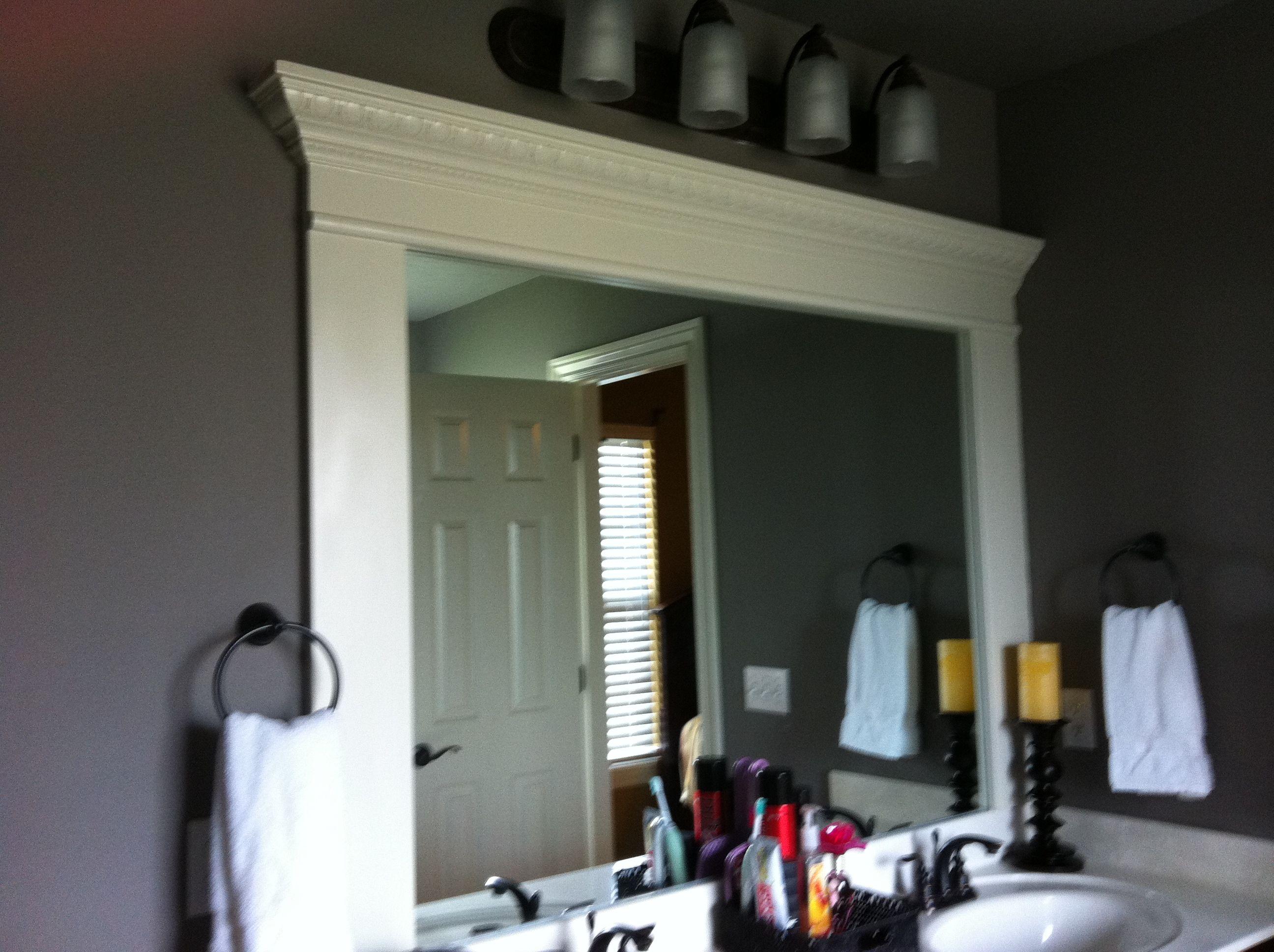 Crown Molding For Bathroom Bathroom Ideas Pinterest