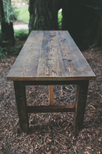 Farm Table Decor Rustic Wood