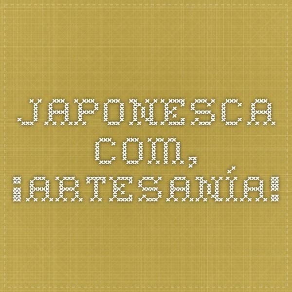 japonesca.com, ¡artesanía!
