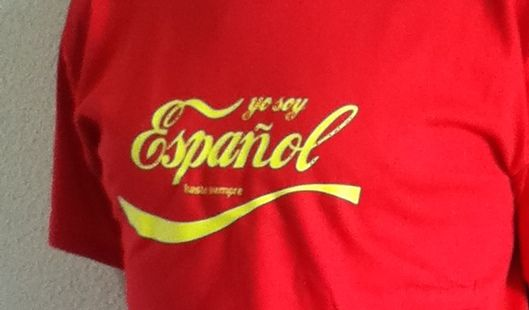 "The definitive chant of the Spanish football fans. ""Soy Español, Español, Español, Español........repeat on loop !"