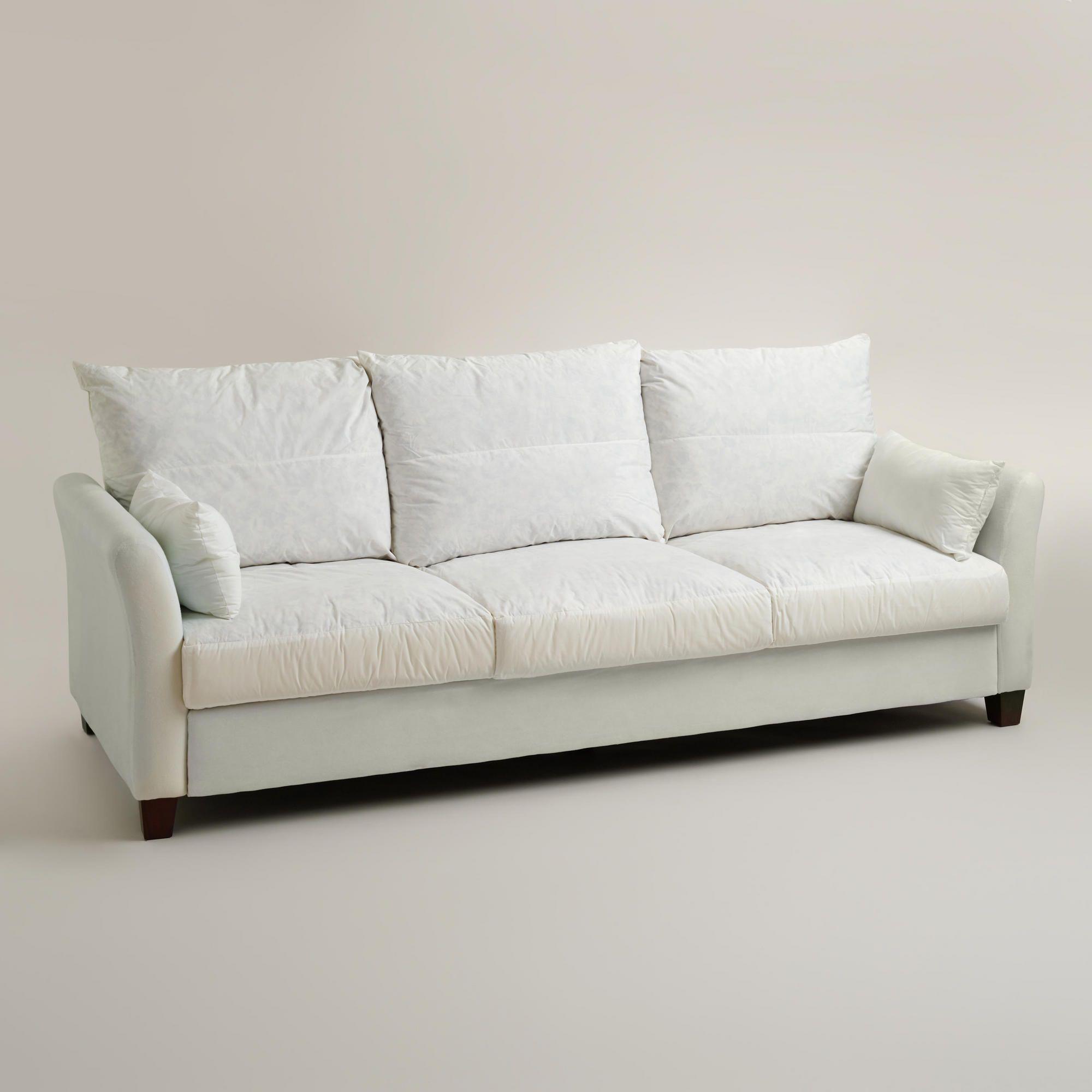Luxe Three Seat Sofa Frame World Market House Stuff