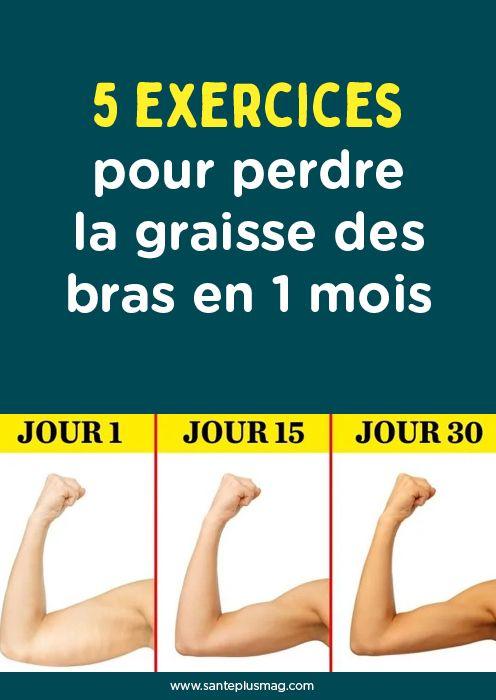 5 exercices pour perdre la graisse des bras en 1 mois ...