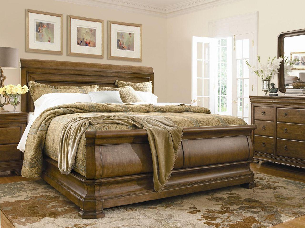 Pennsylvania House New Lou 6 Piece Bedroom Set Carolina Discount  # Muebles Majestic Tijuana