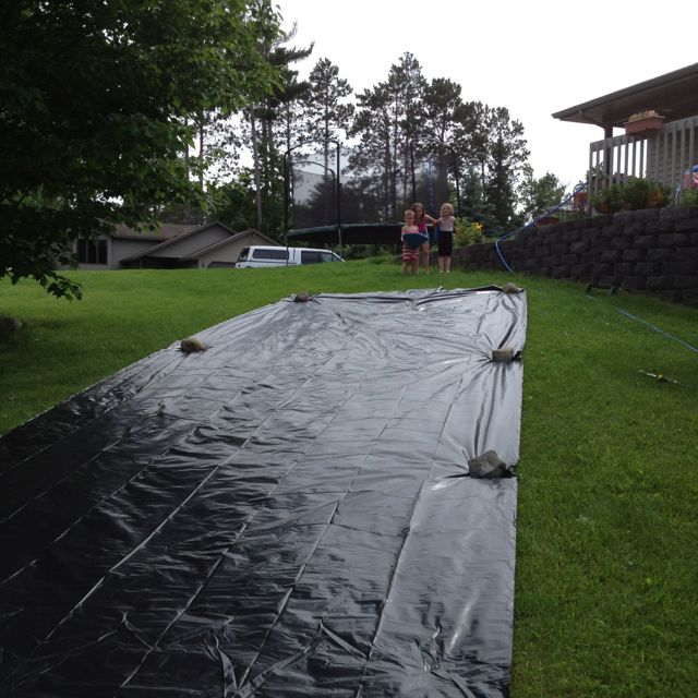 Slip And Slide 20 Plastic Sheeting