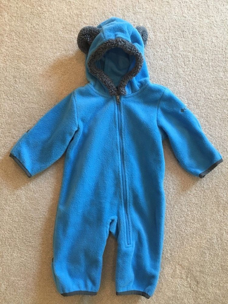 b1117db15 Baby boy 3-6 months Columbia outerwear jacket coveralls fleece blue VGUC  #fashion #clothing #shoes #accessories #babytoddlerclothing  #boysclothingnewborn5t ...