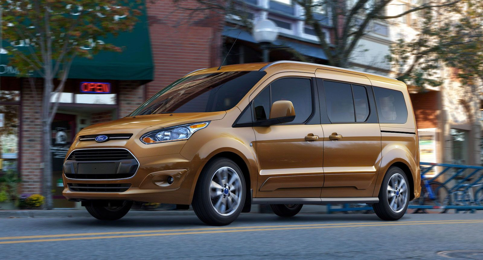 Ford Transit Connect Is An Icon Of Innovation Dynamism And