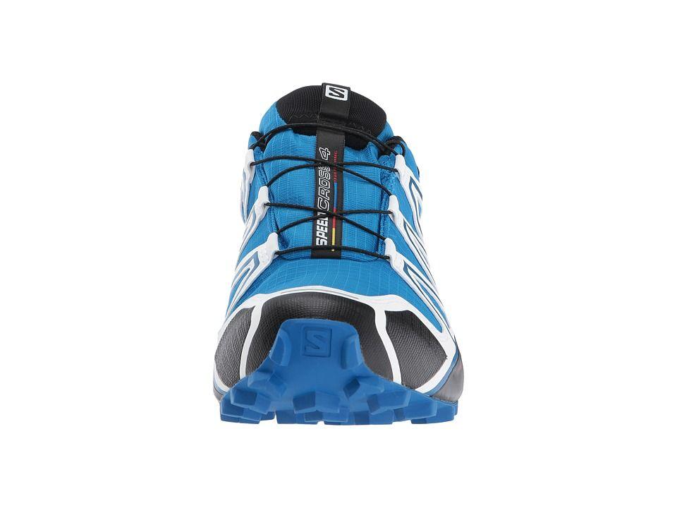 Salomon Speedcross 4 GTX(r) White Sensif Men's Shoes Indigo