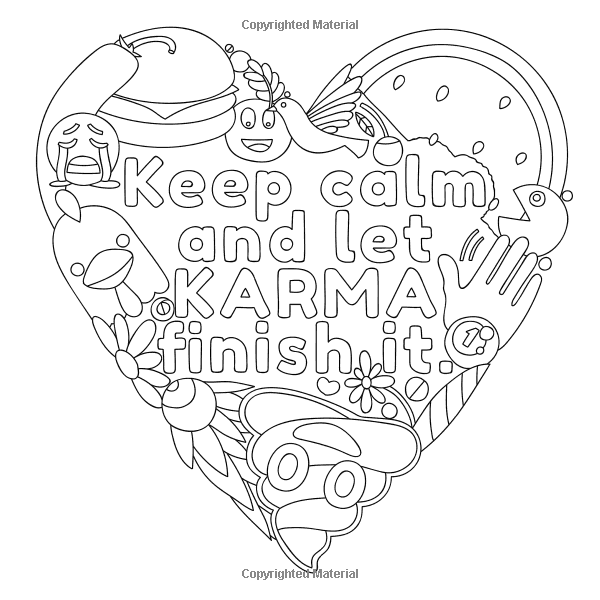 Adult Coloring Colouring Books Emoji Relax Vintage The Keep Calm Pages