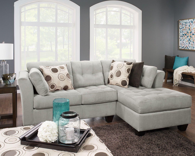donnez la chance a tous de toucher au sectionnel le plus doux qui soit grace a ce sofa sectionnel dez de 2 pieces personnalisable de la collection design a