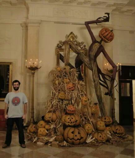 Pumpkin King Statue Awesomesauce Pinterest - halloween scarecrow ideas
