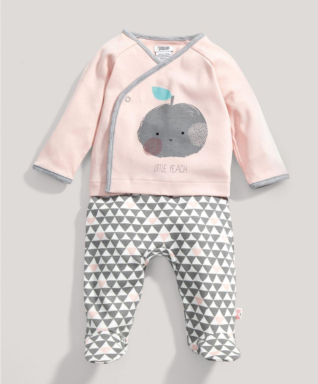 Mamas And Papas 3-6 Months Girls Baby & Toddler Clothing Girls' Clothing (newborn-5t)