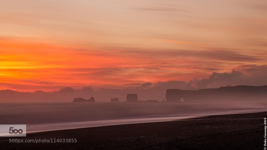 Islandia Puesta de Sol by PedroCuronisyPellegero #photo
