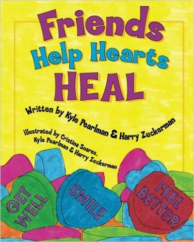 Book about heart surgery and two friends