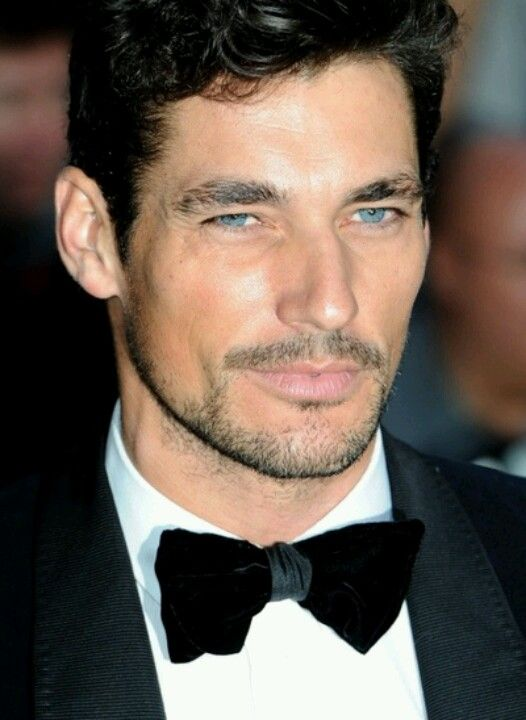 David Gandy and those gorgeous blue eyes!