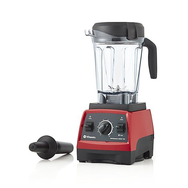 Vitamix 300 Professional Blender Ruby Red Crate and Barrel