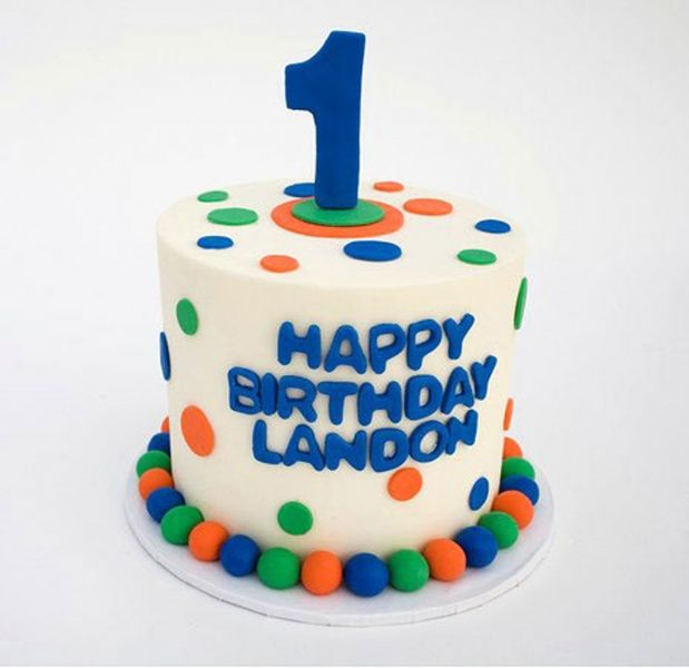 Landons 3 Year Old Birthday Cake
