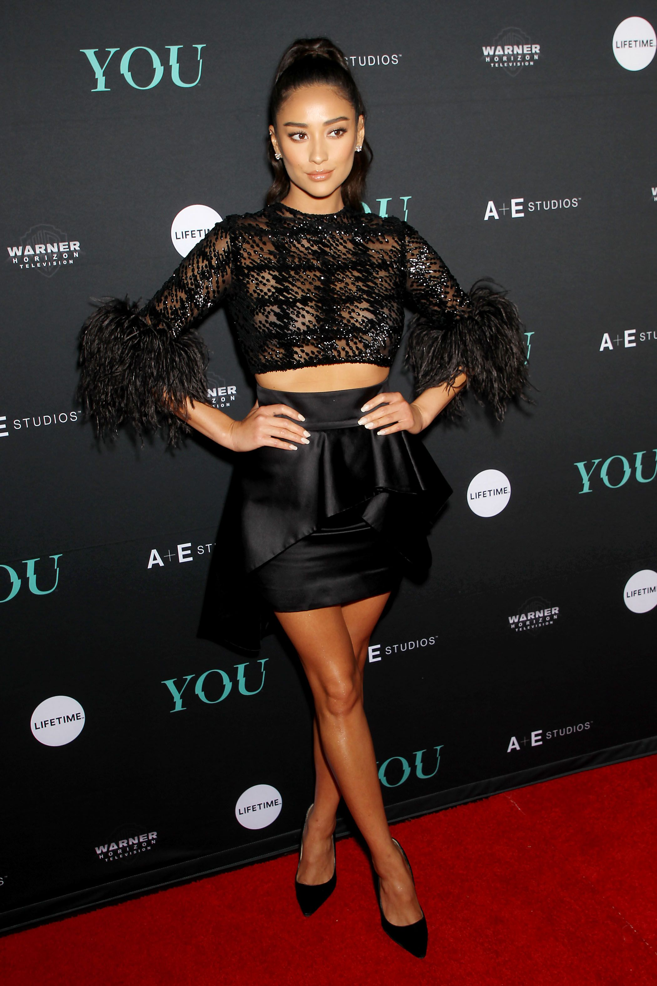 340f1a7c13 Shay Mitchell -  You  TV sereies premiere in New York