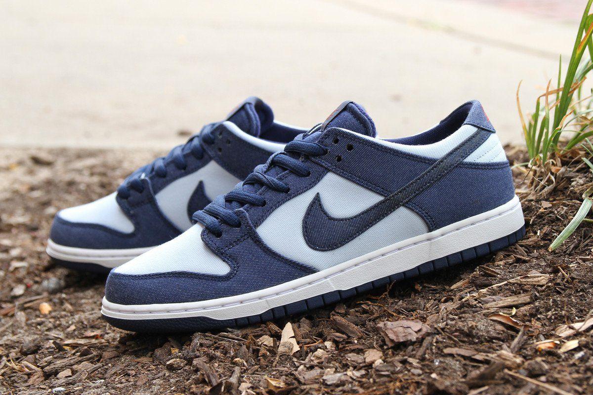 huge discount 36da3 b6ff6 Nike SB Zoom Dunk Low Pro 'Binary Blue' - EU Kicks: Sneaker ...