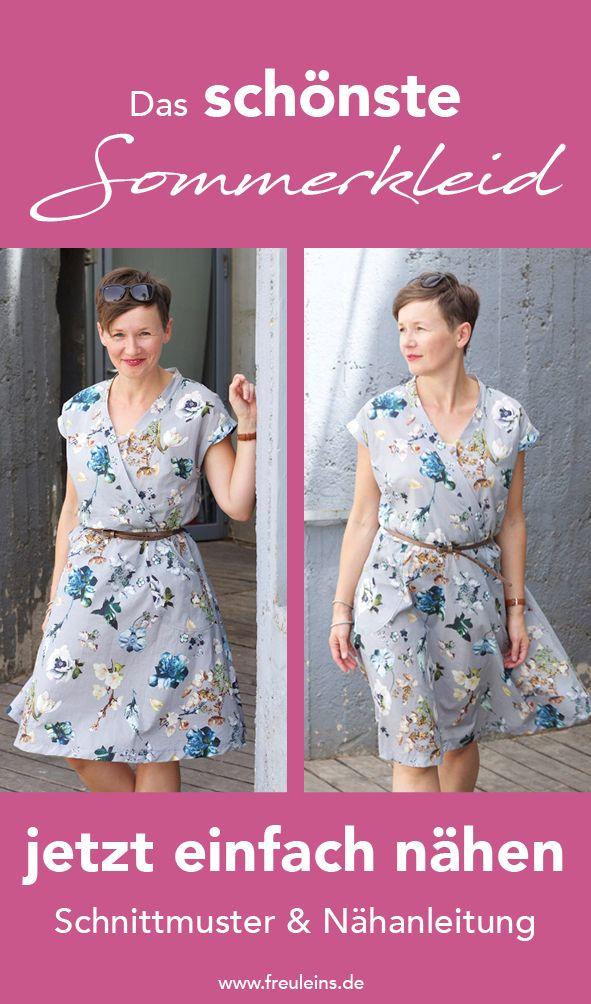 Schnittmuster Kleid Katrein | Pinterest | Jersey nähen, Kleid nähen ...