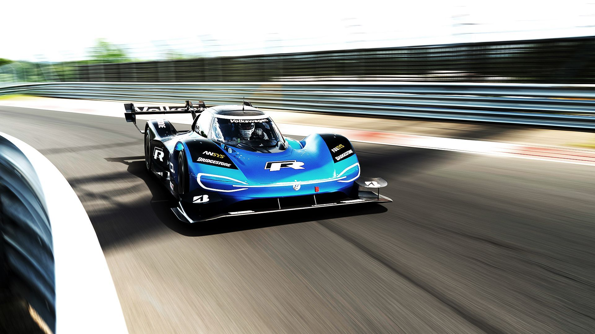 Watch The Volkswagen Id R Drive The Fastest All Electric Lap
