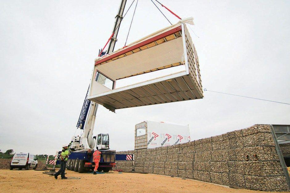 Lindapter Steel Fixings For Modular Construction Modular Brickwork Construction