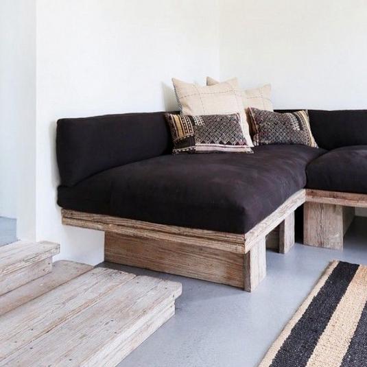 29 Concrete Floor Ideas We Found On Instagram Domino Concrete Floors Concrete Floors Bedroom Concrete Floors Living Room