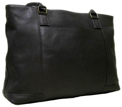 Le Donne Leather Womens Laptop Tote
