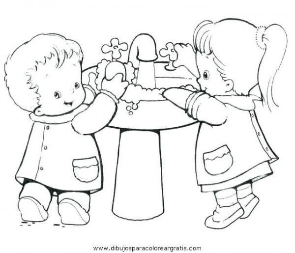 Lavarse Las Manos Para Colorear Para Para May Pop On No Nos Para L Abuse Art Teaching Art Drawing For Kids