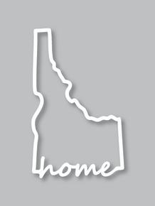 Idaho Home Sticker Stickers Idaho Boise Idaho Stickers