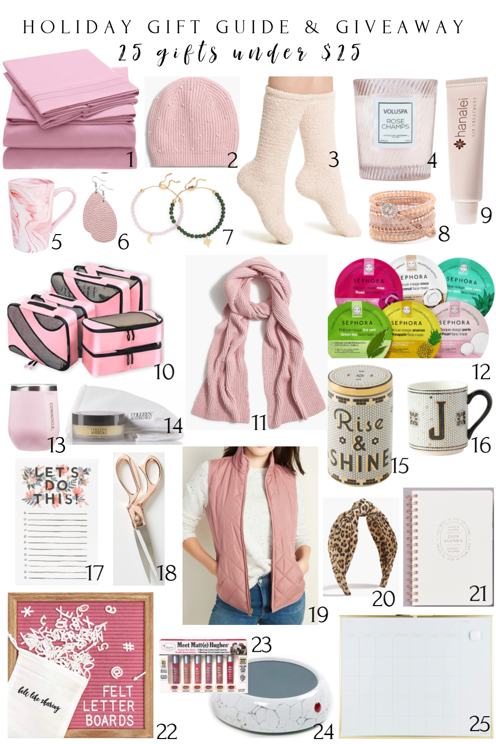 25 DAYS OF GIVEAWAY 25 Christmas Gifts Under 25 Honey