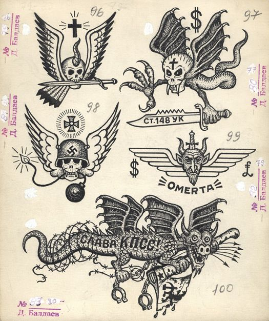 drawings of russian criminal tattoos by danzig baldaev collection fuel london from the essay. Black Bedroom Furniture Sets. Home Design Ideas