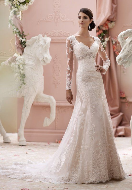 ff02e652d67b6cf David Tutera for Mon Cheri 115240 Finley Wedding Dress - The Knot ...