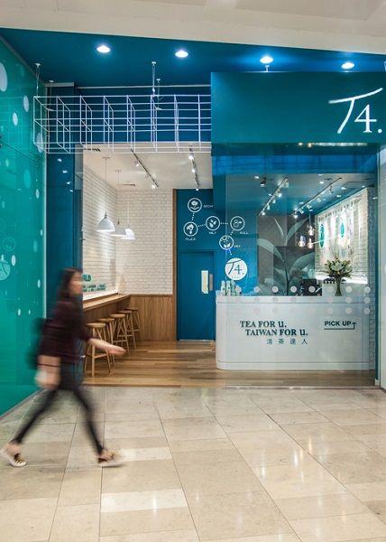 Agence Hylt Tea Store Design Bubble Tea Shop Tea Cafe