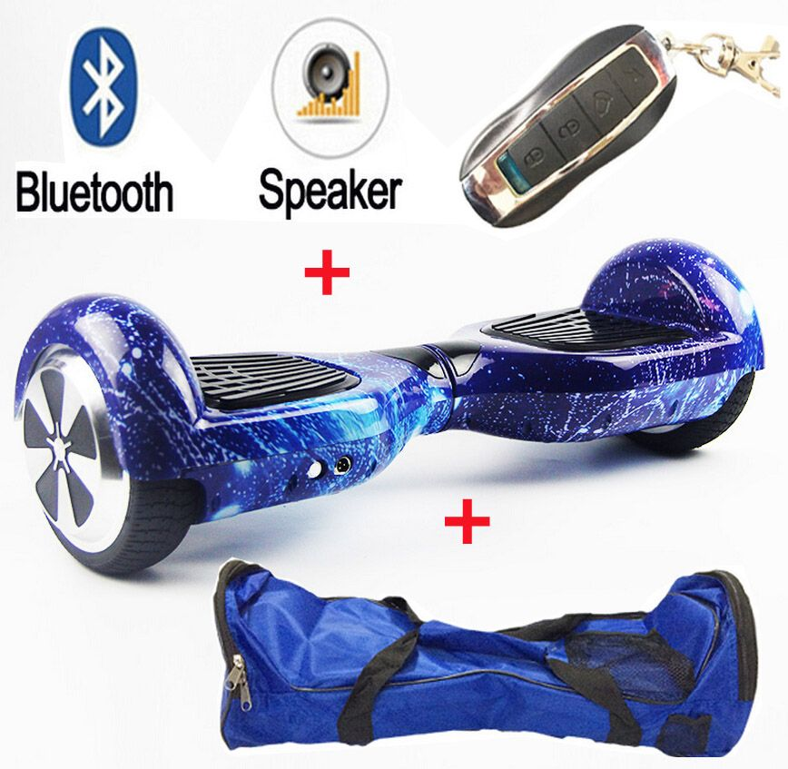6.5/'/' Inch Electric Self Balancing Scooter 2Wheel Balance Hover Board Bluetooth