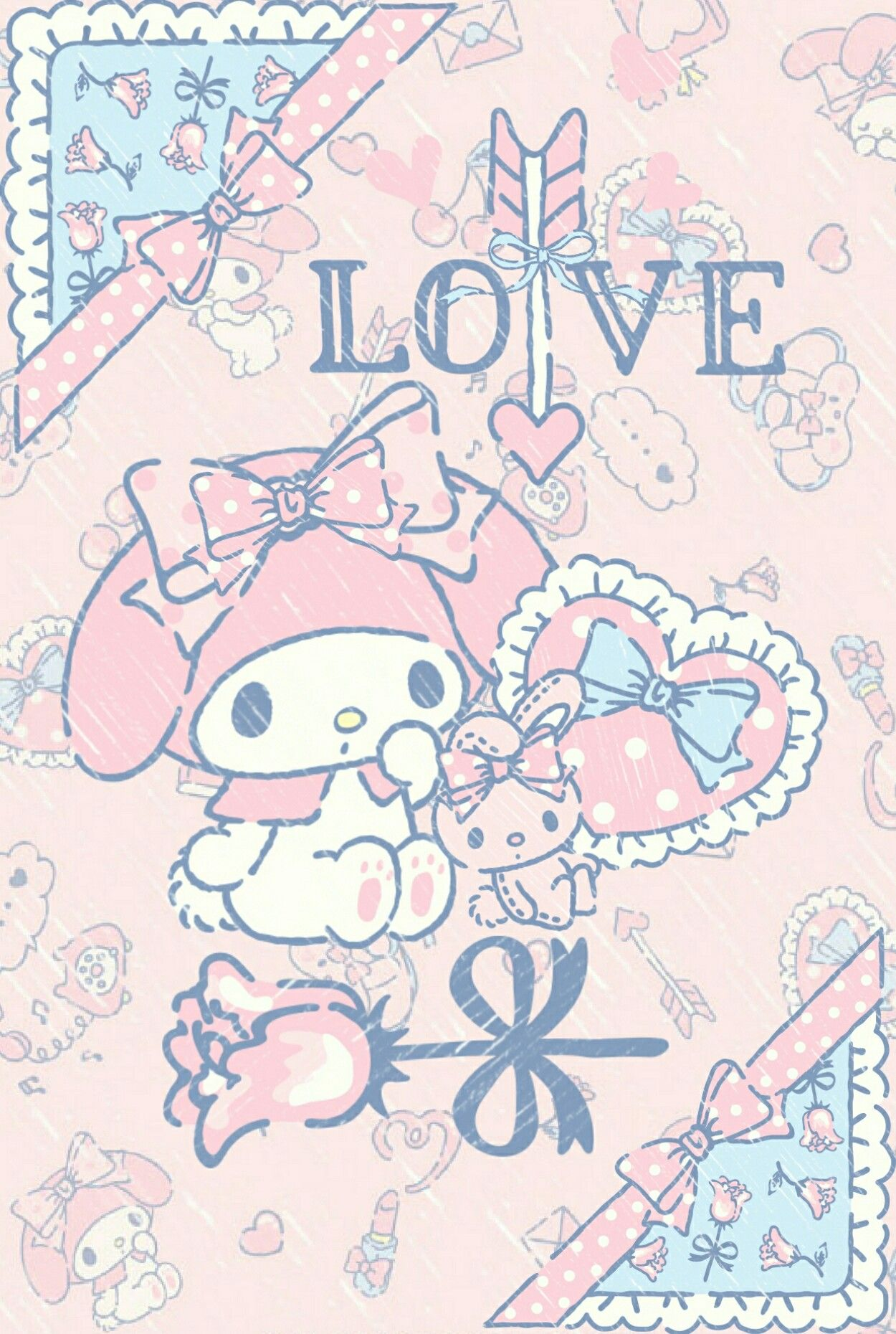 "My Melody ""LOVE ALWAYS - Happy St. Valentine's Day"", as courtesy of Sanrio"