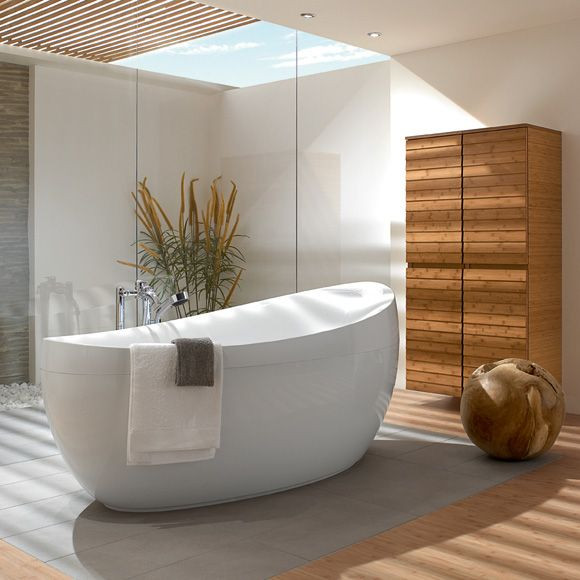 Aveo Tub From Villeroy and Boch Home Decor - Bathroom Pinterest